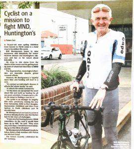 Bob in Geraldton Paper