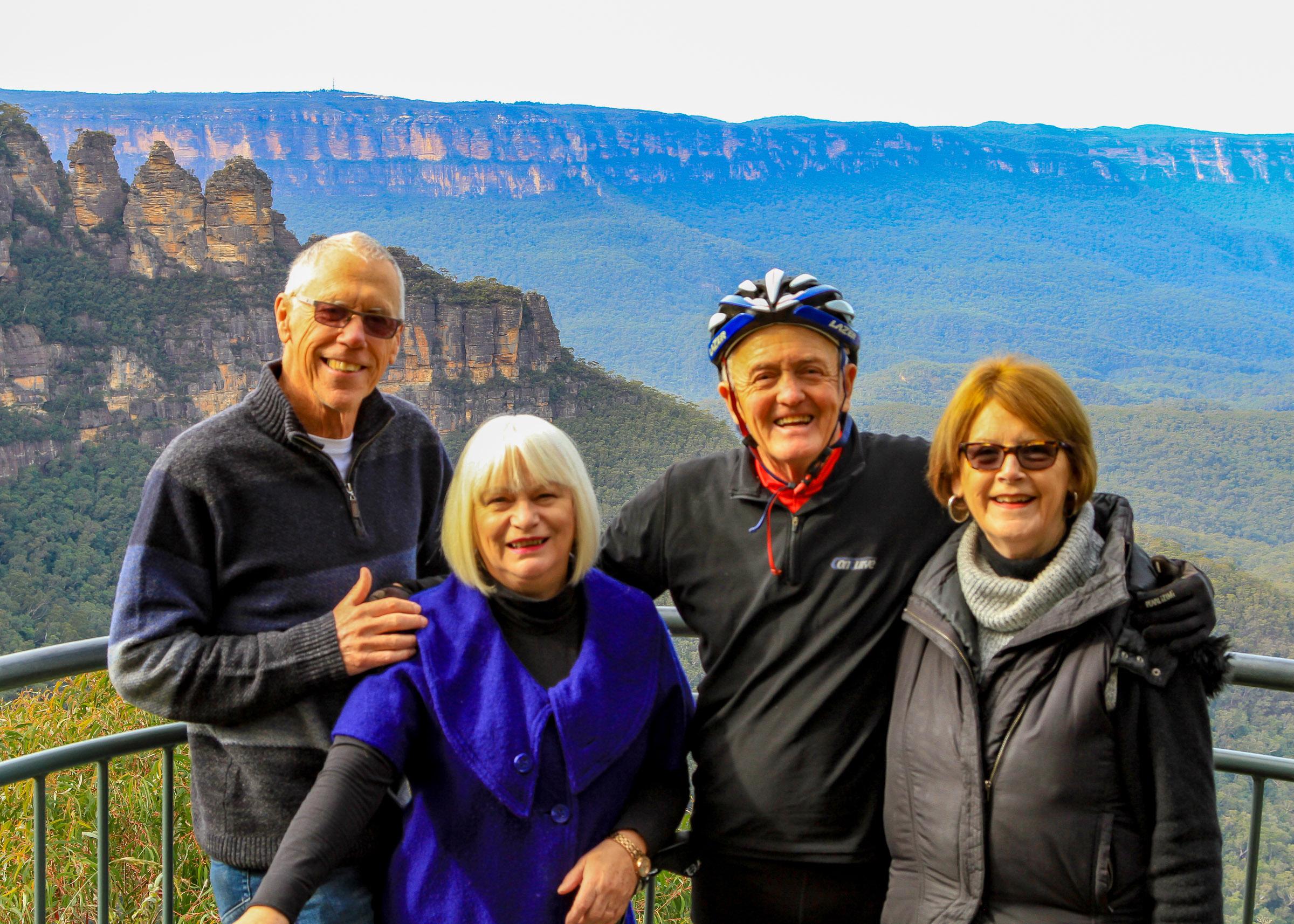 Bill, Sallee, Bob & Jenny The Last Leg Crew